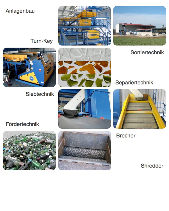 Turn-Key Recycling Plants for Container- and Flat Glass